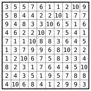 hitori-pairs