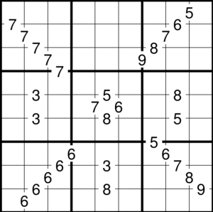 sudoku-divisors